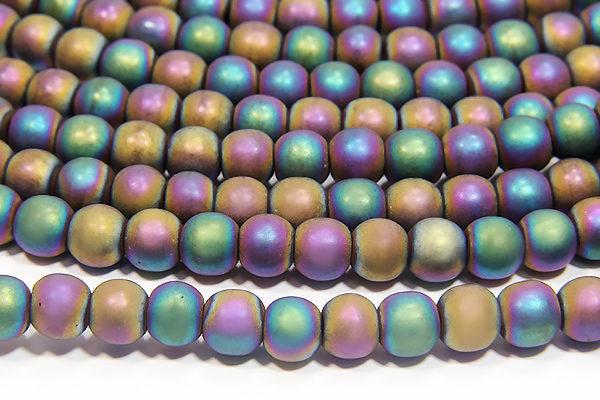 Matte Rainbow Hematite