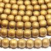 Matte Gold Hematite