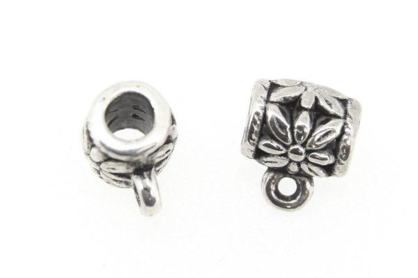 Silver Decorative Hanger Bails