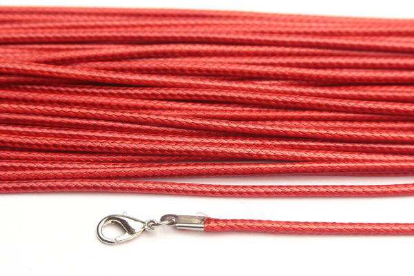 Ruby Silky Cord Necklace
