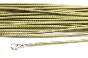 Olivine Silky Cord Necklace