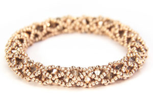 Golden Spotlight Hollywood Crystal Bangle