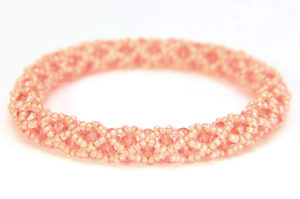 Coral Hollywood Crystal Bangle