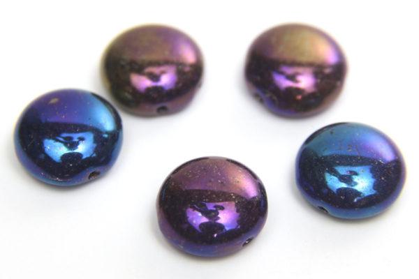 Peacock Preciosa Candy Beads