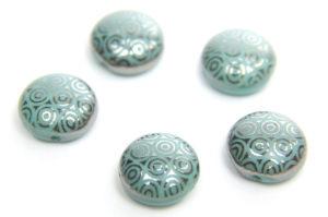 Turquoise Stencil Preciosa Candy Beads