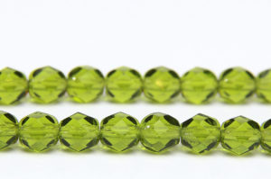 Olivine Fire Polished