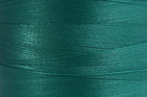 Emerald Green Spider-Lon Waxed Bead Weaving Thread and Needle