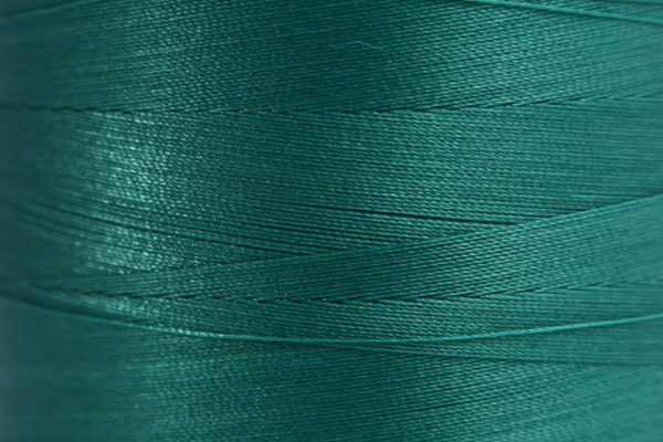 Emerald Green Spider-Lon Waxed Bead Weaving Thread and Needle