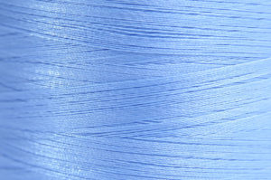 Sky Blue Spider-Lon Waxed Bead Weaving Thread and Needle