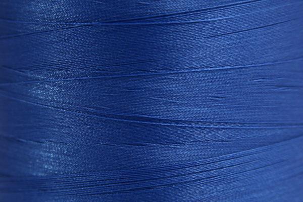 Deep Blue Spider-Lon Waxed Bead Weaving Thread and Needle