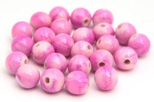 Luscious Pink Jupiter Beads