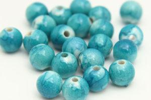 Turquoise Jupiter Beads