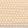 4mm Shell Frosted Preciosa Glass Pearl Beads