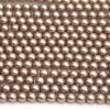 4mm Mocha Frosted Preciosa Glass Pearl Beads