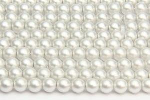 Preciosa Satin Glass Pearls