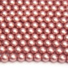 6mm Blush Frosted Preciosa Glass Pearl Beads