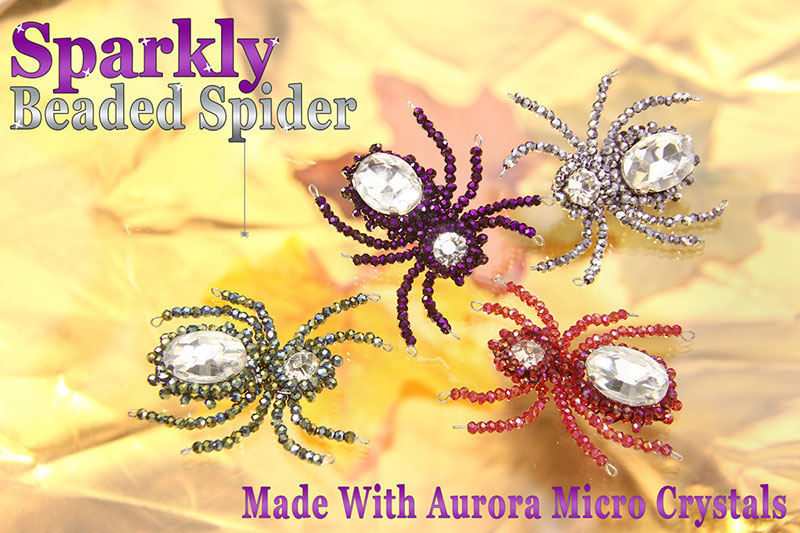 sparkly-beaded-spider1