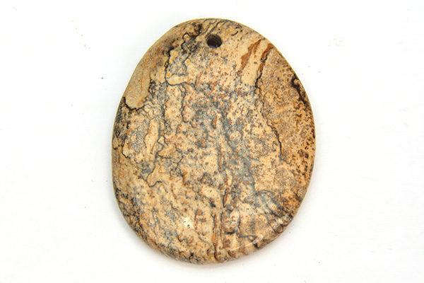 Kalahari Picture Stone Drop Pendant