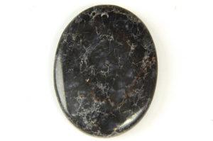 Black Sea Sediment Jasper Oval Pendant