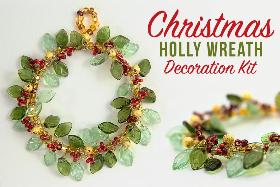 Holly-Wreath-Banner