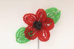 November 4th Beaded Poppy Brooch Tutorial Products