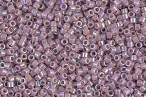 Opaque Lilac AB Delica Beads