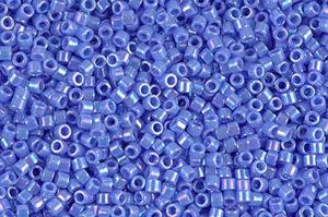 Opaque Light Sapphire AB Delica Beads