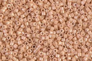Opaque Tan Delica Beads