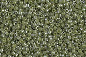 Opaque Cactus Luster Delica Beads