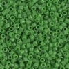Opaque Pea Green Delica Beads
