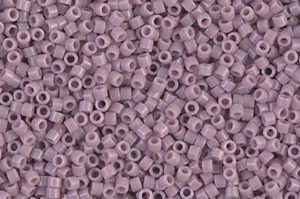 Opaque Lilac Delica Beads