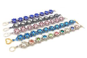 September 18th Starburst Rivoli Earring and Bracelet Tutorial Products