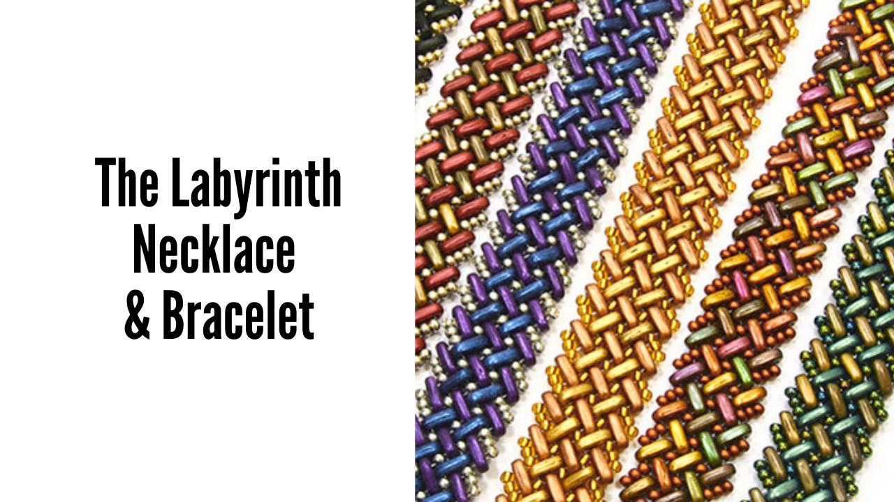 The Labyrinth Necklace and Bracelet Youtube KeyFrame
