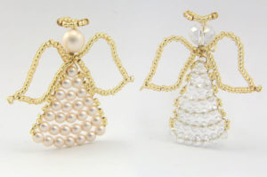 December 9th Crystal and Pearl Angel Decoration Kit