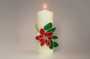 11th December Poinsettia Beaded Flower Tutorial Products
