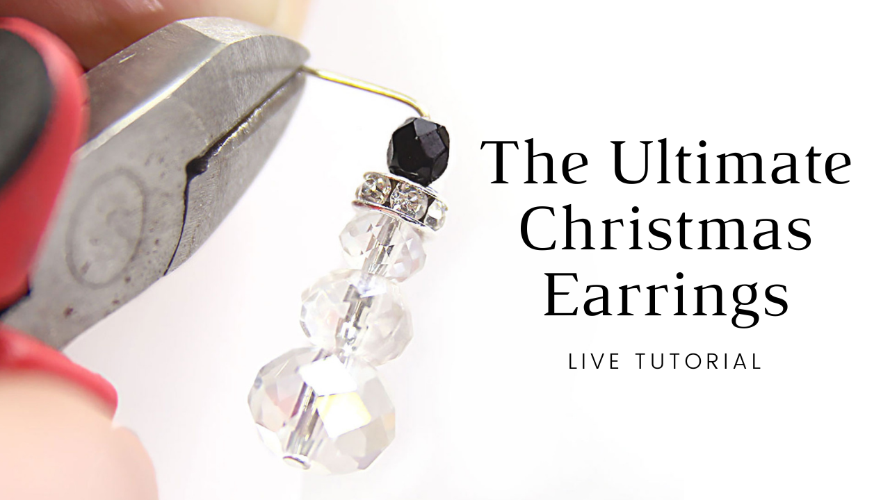 The Ultimate Christmas Earring Live Tutorial