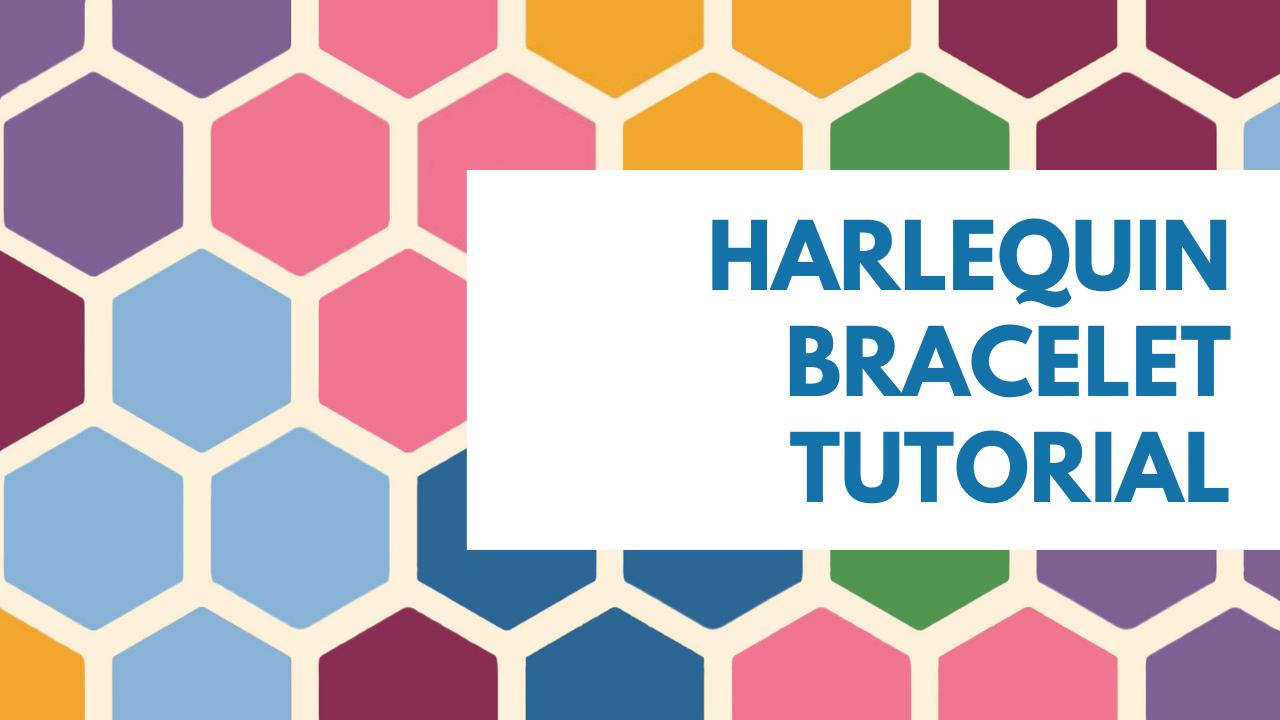 hARLEQUIN bracelet tutorial spacing
