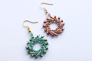 March 24th - Pinwheel Earrings