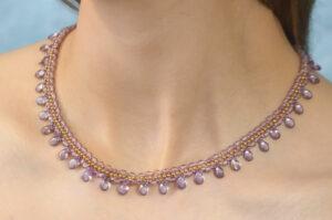 Delicate Drops Pip Necklace